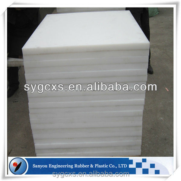 uhmw hdpe extrusion/green plastic sheet for plastic plants/hockey barrier