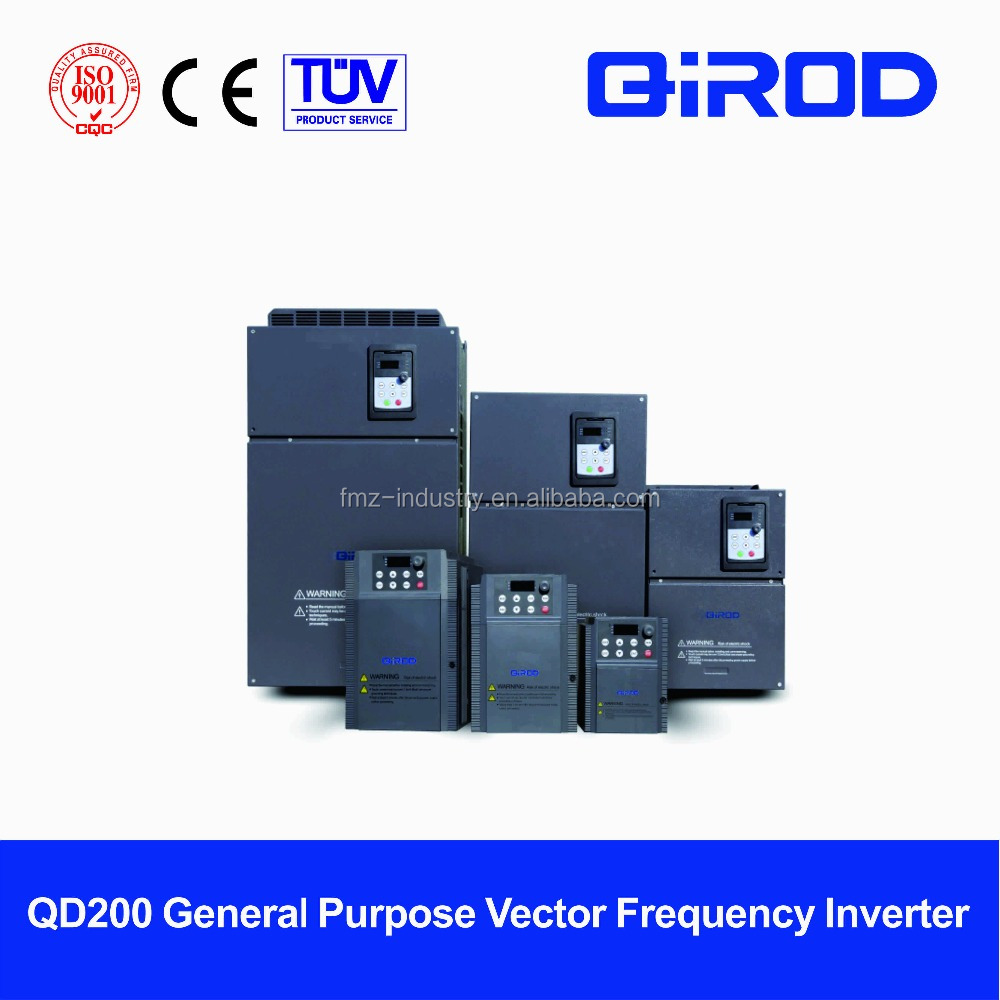 QIROD QD200 Series 75kw 3-Phase 380V variable frequency Inverters, VFD ac drives, factory prices