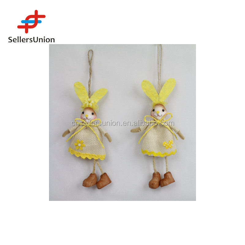 2017 Pasen Opknoping Collectie leuke bunny ornament