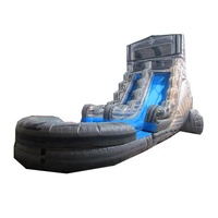 2019 grey marble 20 foot water slide, inflatable waterslide for rental