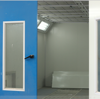 Factory price automotive paint spray booth/car body painting room for sale