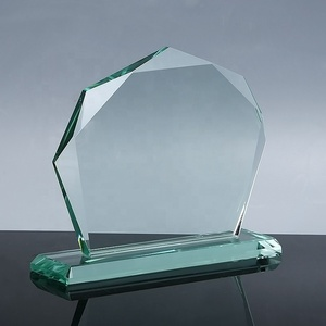 Wholesale Blank Crystal Plaque Glass Trophy Award With Good Price