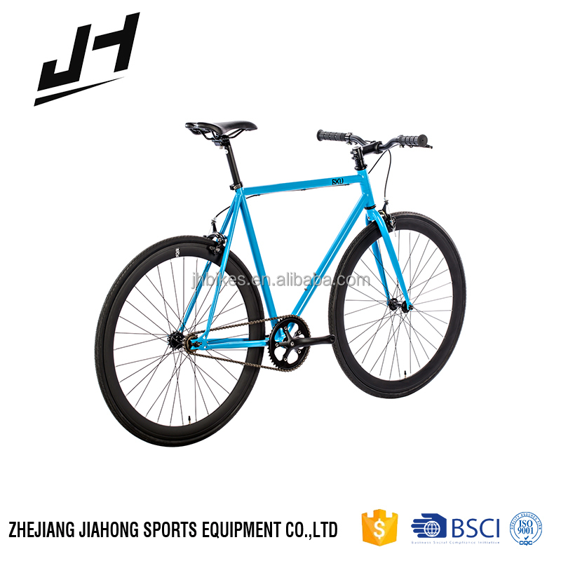 Distinctive Single Speed steel Fixed Gear Bike with flip flop hub