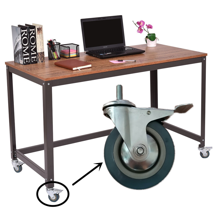 3 4 5 Locking Caster Wheels Book Laptop Desk Computer Table View Wbd Product Details From Guangzhou Ylcaster Metal Co