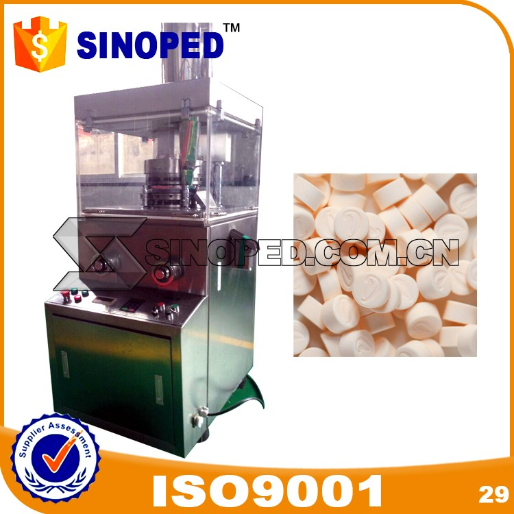ZP19 Rotary Tablet Press with Animal head shape punches and die mould