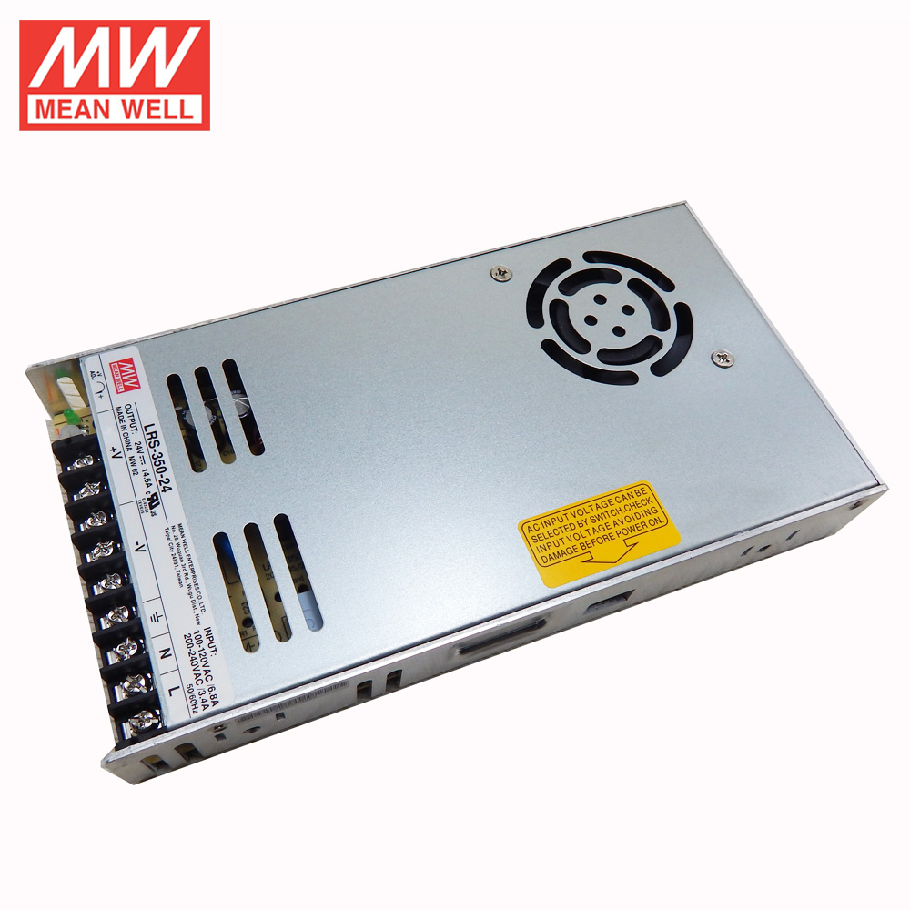 1w To 10kw Meanwell Smps Power Supply 230vac 24vdc 360w Lrs-350-24 ...