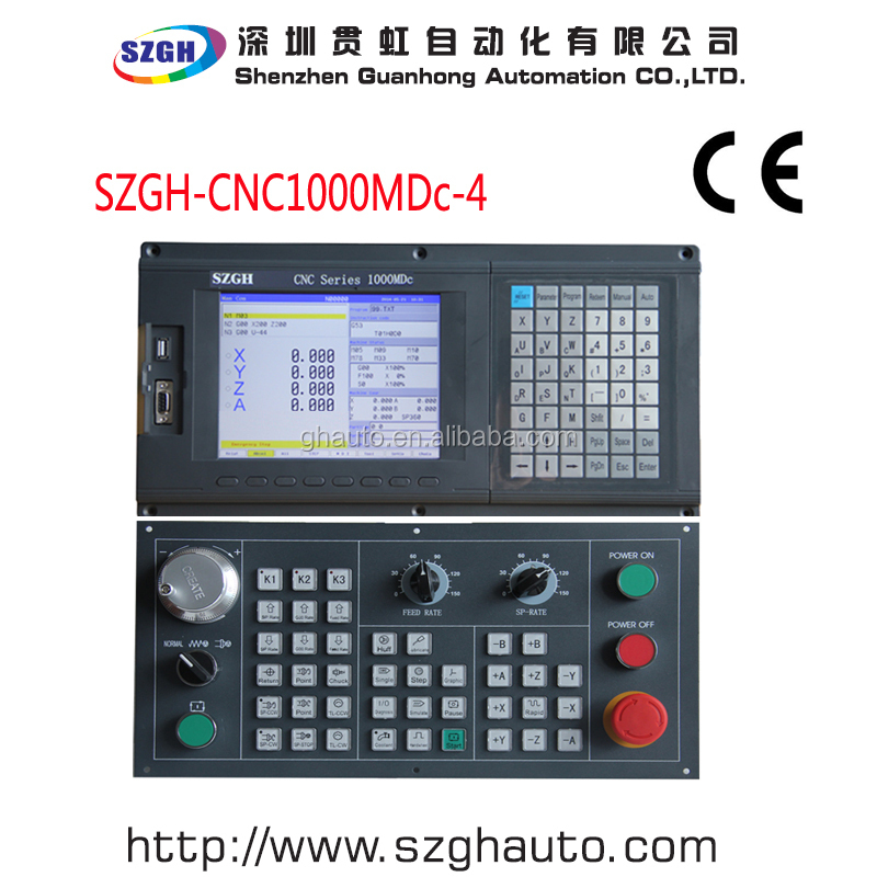 Stand-alone 4 axis CNC DSP Controller for CNC Router
