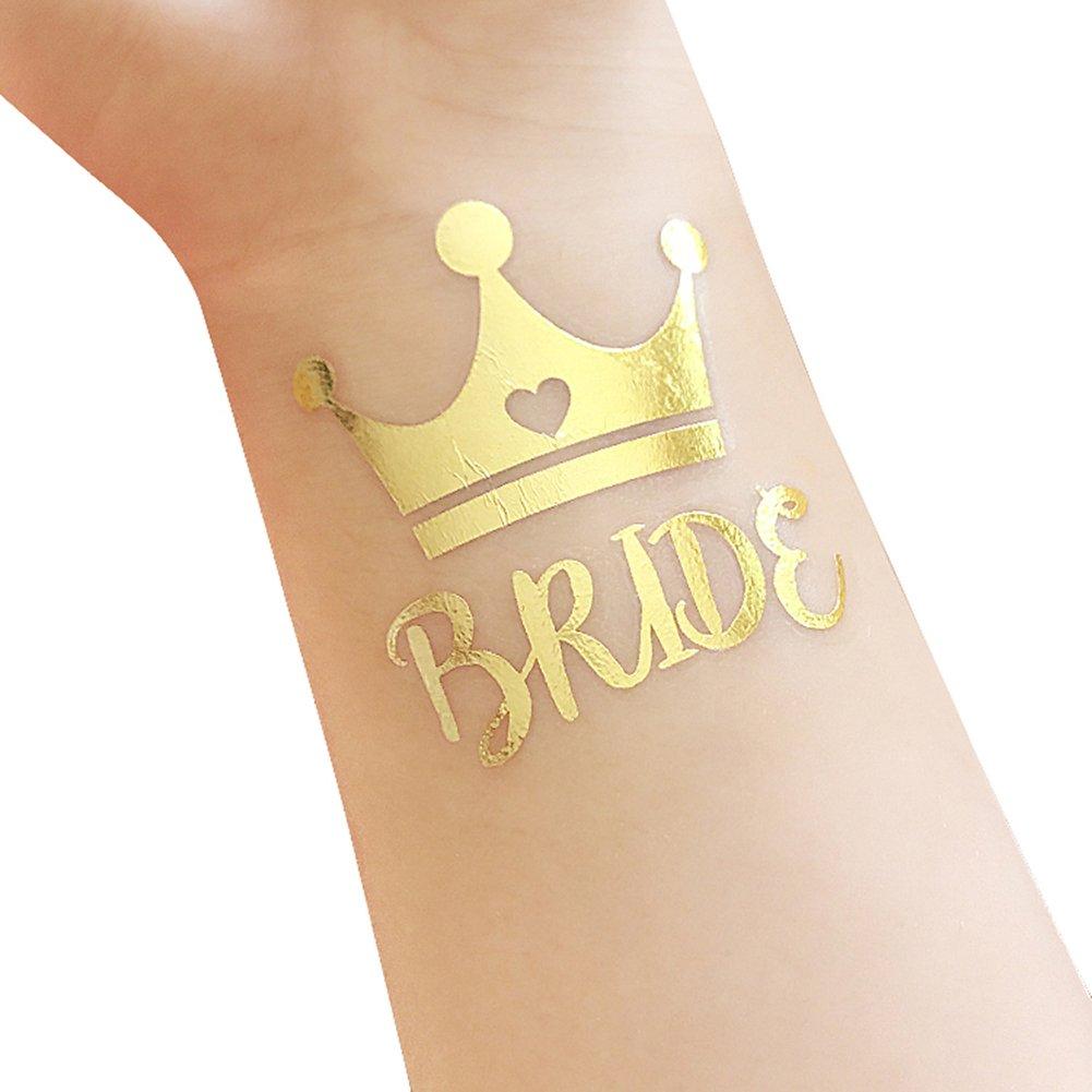 Get Quotations · Bachelorette and Bride Tribe Temporary Tattoos b737e5bdcf4f