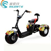 Good reputation high quality citycoco mobility scooter 3 wheel