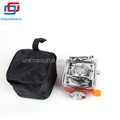Portable useful Outdoor Camping Gas Stove Kit