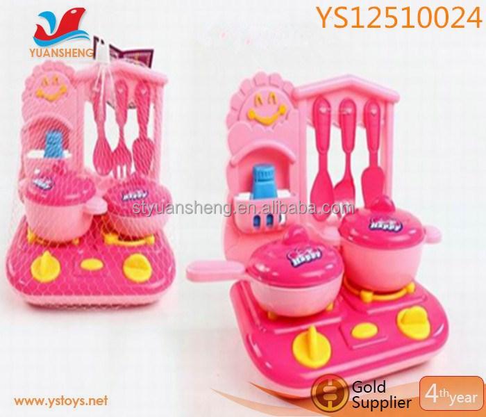 venta caliente juguetes juegan cocina china galvanizado vajilla sets hermosa estufa juguetes para nias