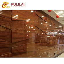 Hotel decorative 3d wooden wall panel/ hotel panel (FLL-GZ-002)