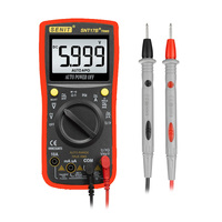 SNT17B+ Auto Ranging Digital Multimeter 6000 Counts Electronic Amp Volt Ohm Voltage Meter with Diode and Continuity test