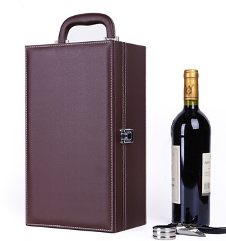 Wholesale custom logo luxury  red wine gift packaging boxes