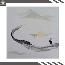 Оптовая продажа современное искусство реферат Купить лучшие  Оптовая продажа современный абстрактный проверка холст стены искусства Буддизма черный и белый живопись холст