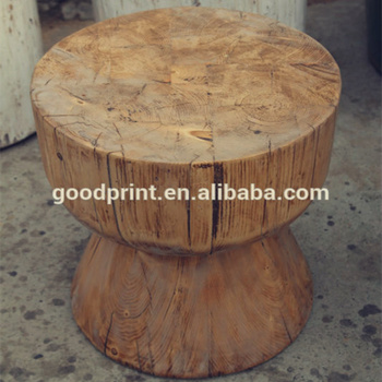 Pleasant Chinese Antique Style Solid Pine Wood Stool Vintage Wooden Stool Round Wood Stool Buy Chinese Antique Style Solid Pine Wood Stool Natural Chinese Creativecarmelina Interior Chair Design Creativecarmelinacom