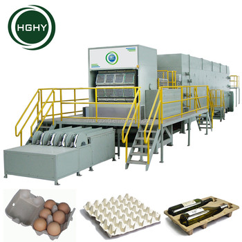HGHY good quality chicken egg tray making machine