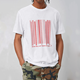 Wholesale OEM trend pima cotton men barcode graphic t shirts