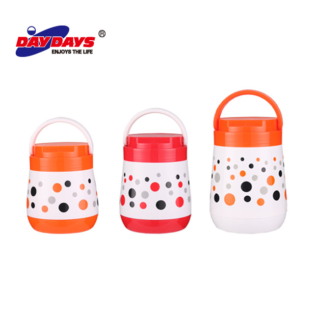 Corpo de plástico Refil De Vidro Recipiente de Alimento Térmica/Hot Pot/Lunch Box For Kids Food Warmer
