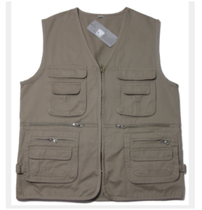 grey orange high quality fashion custom work vest