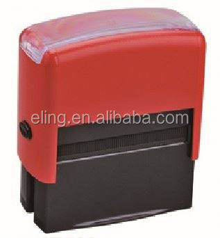 Plastic Self inking Stamp manual feeding flash stamp machine