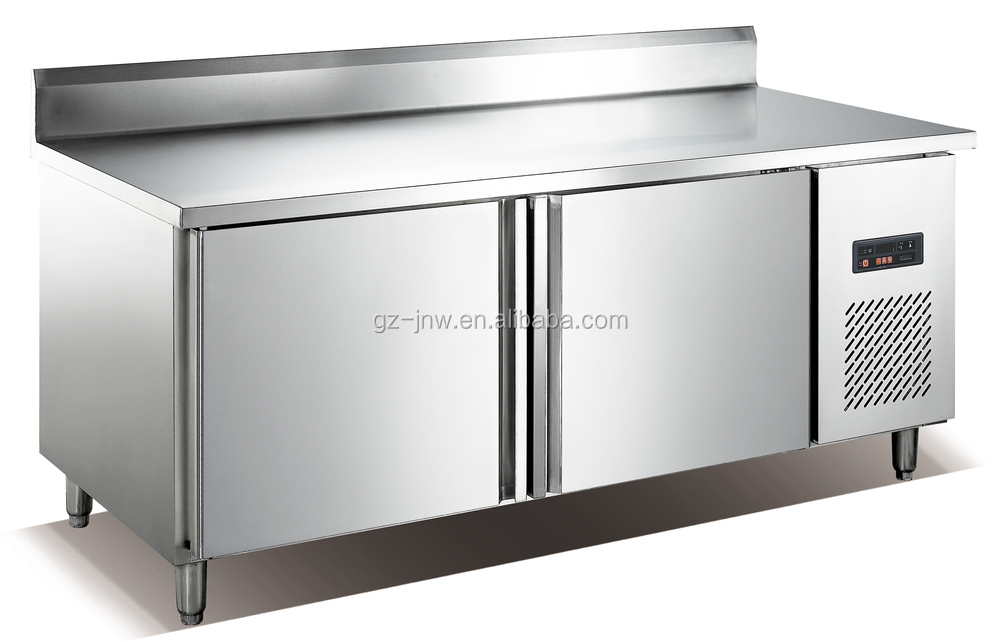 Stainless Steel Under Counter Fridge Refrigerated Work