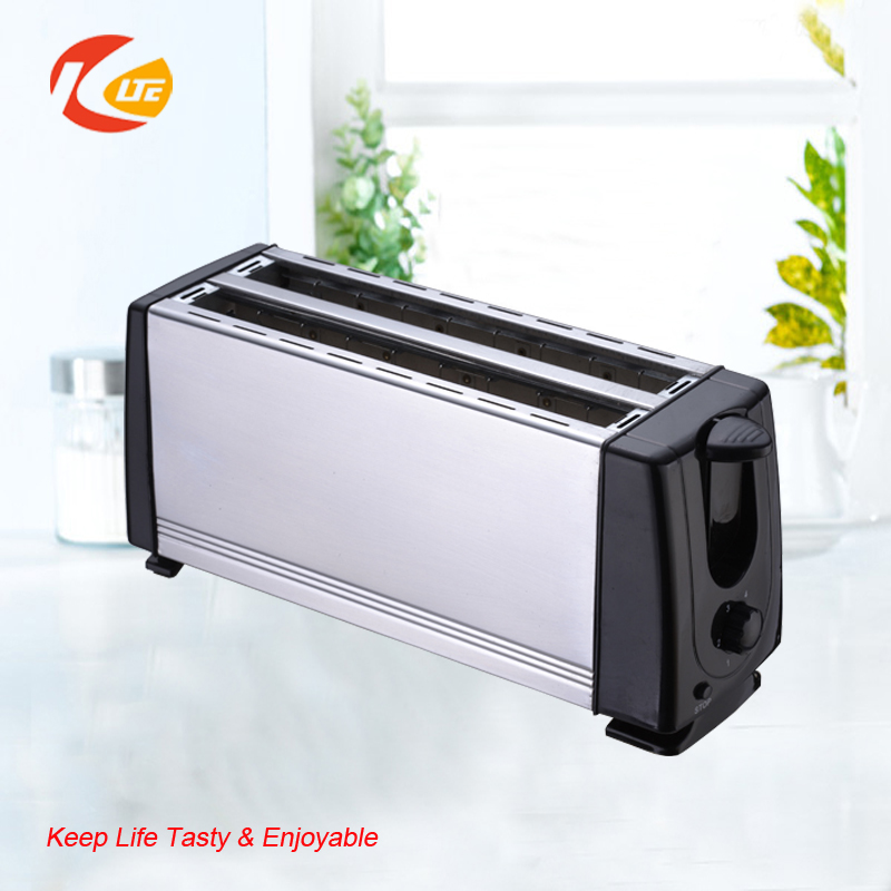 2 slice long slot toaster, Stainless Steel Toaster, unique design toaster