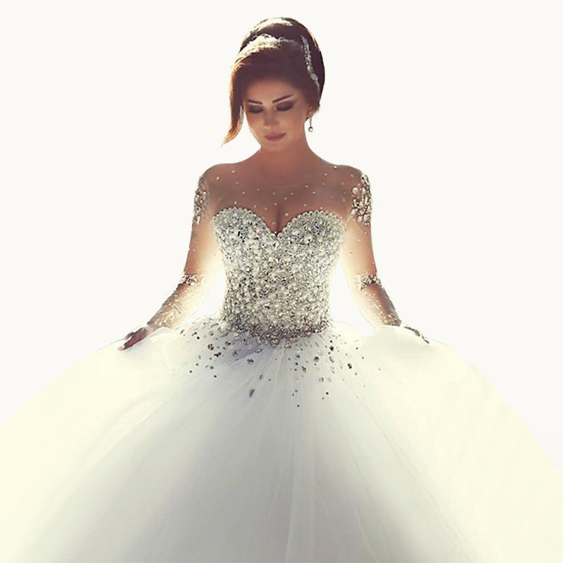 Princess Ball Gown Wedding Dresses: Aliexpress.com : Buy Vestidos De Novia 2015 Princess Ball