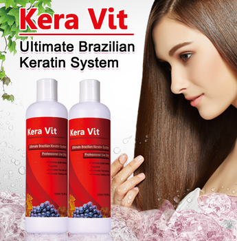 Kera Vit Anggur Emas Brasil Keratin Straightening Perawatan Rambut ...