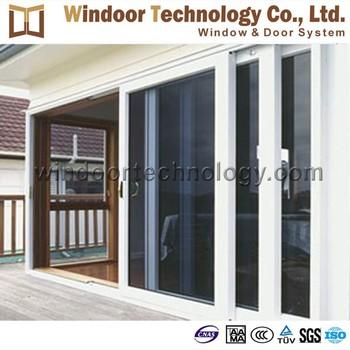 Aluminum sliding entrance door buy glass sliding doors for Sliding door main entrance