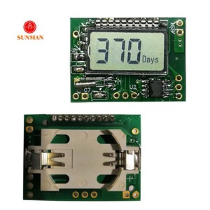 Custom counter display mini small micro battery powered lcd screen