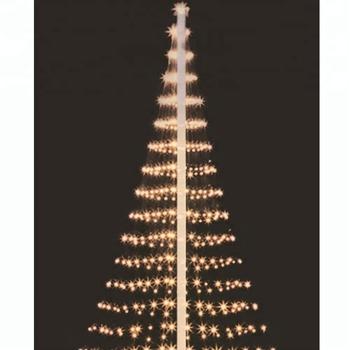 Kms Lighting 480led Net Flagpole Christmas Tree Lights 11m Outdoor