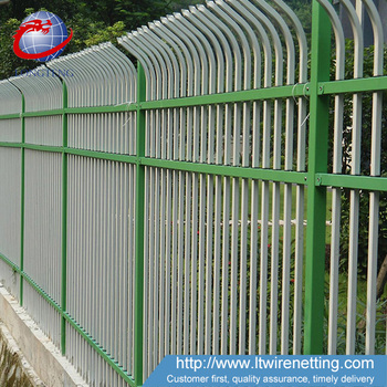 Professional Manufacturer Supply Wrought Iron Fence With Low Cost