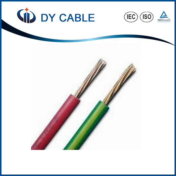 2016 Top Quality electric cable for <strong>copper</strong> and aluminum PVC Insulated Wire