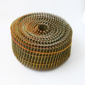 china coil nails manufacture top quality wire collated galvanized coil roofing nails