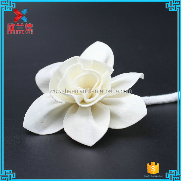 sola Handmade decorative wood artificial narcissus flower