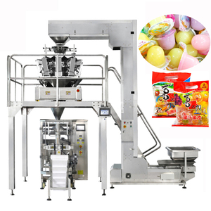 jelly gusset pouch packaging sealing machine
