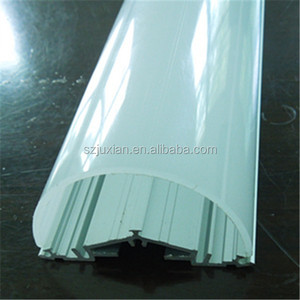 polycarbon extrusion light tube cover/PC LED lamp cover/ LED tube cover