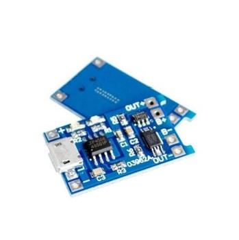 Micro Usb 5v 1a 18650 Tp4056 Chargeur De Batterie Au Lithium Module De Charge Avec Protection Double Fonctions 1a Li ion Buy Module De Chargeur De