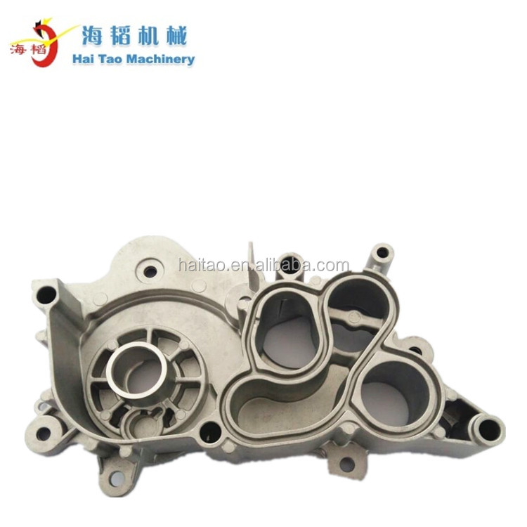 Aluminum automotive water pump casting body