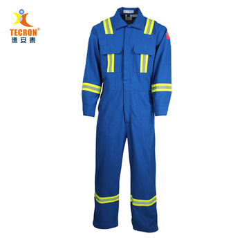Nomex fire retardant coverall , fr clothing, oil gas safety work wear