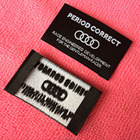 new style garment woven label for clothing,clothing woven label for neck