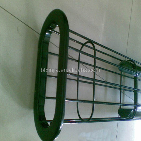 carbon steel epoxy painted oval flat filter bag cage