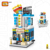 LOZ Promotion Plastic 3D Bulk Mini building blocks Business Street view building block bricks construct toy