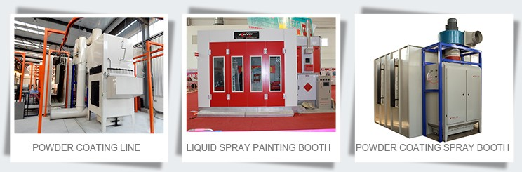 KX-SP3200D 6900*3900*2600mm Inner Size Automatic Car Body Paint Spray Booth