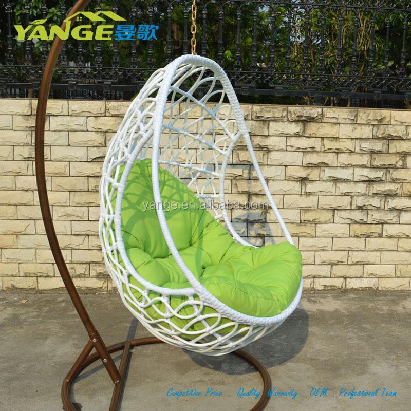White Pe Rattan Wicker Hanging Swing Egg Chair With Arm   Buy White Pe  Rattan Wicker Hanging Swing Egg Chair With Arm,Cool Style Outdoor Swings Pe  Rattan ...