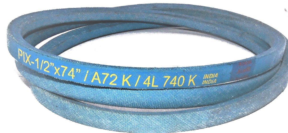 "KEVLAR wrapped Industrial & Lawn Mower Belt A72K 4L740K 1/2 X 74"" HEAVY DUTY --P#EWT43 65234R3FA539890"