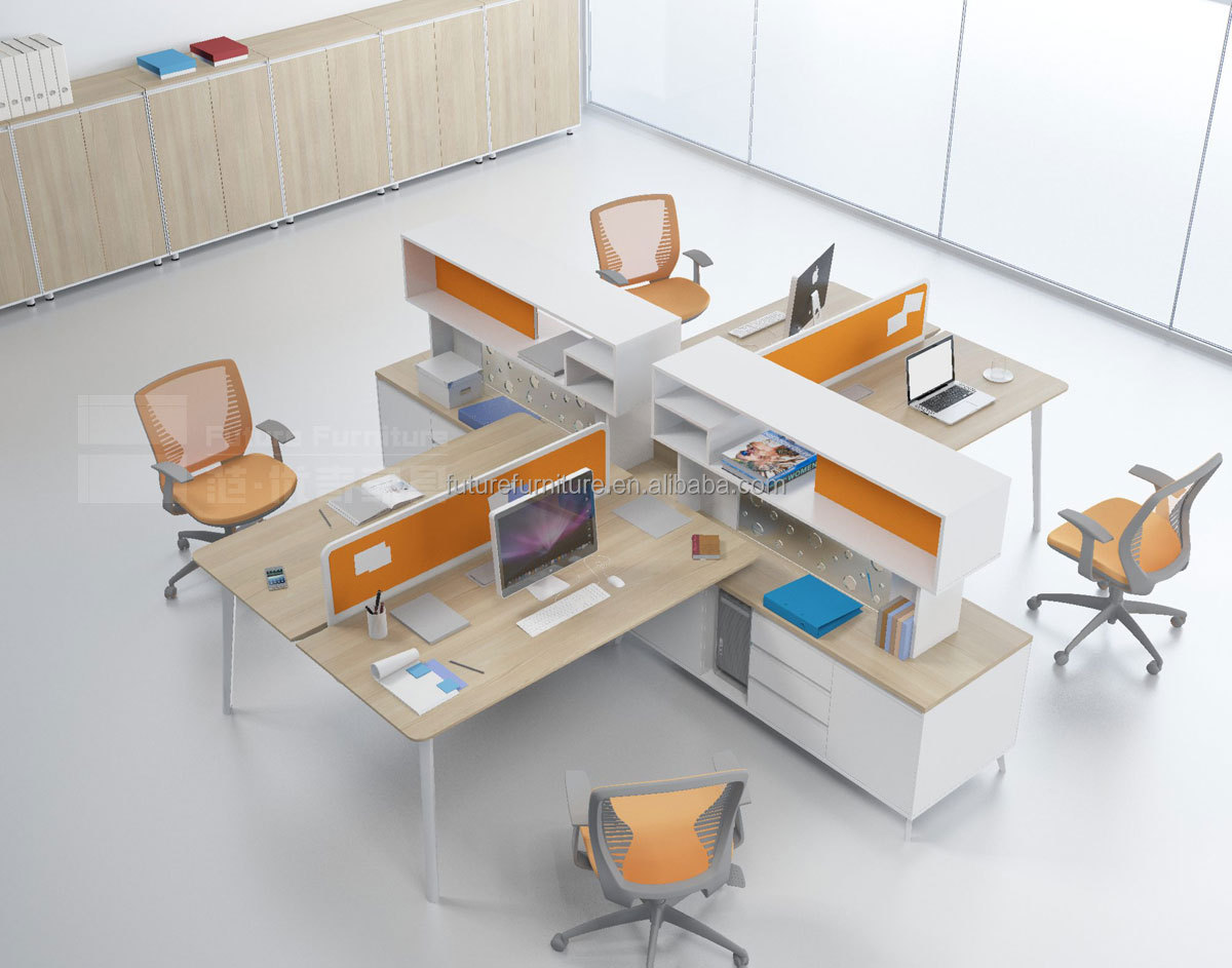 2014 Italy Style Modern Workstation Office Furniture With High Cabinet Buy Workstation Office