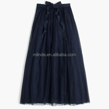 long skirts designs Tulle ball skirt Maxi Beautiful long skirts for women