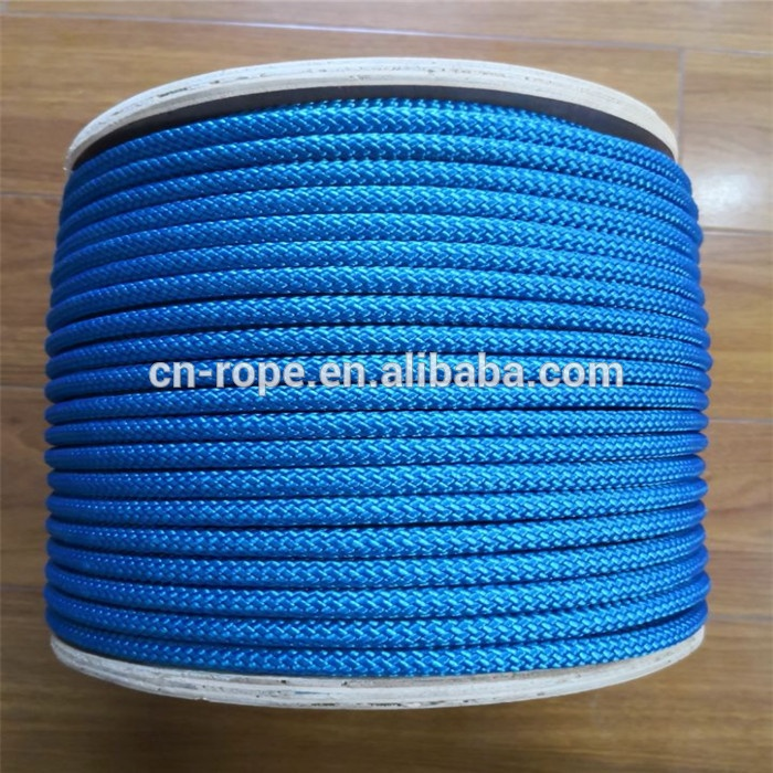 white polyester Anchor line  Double braided polyester rope anchor rope